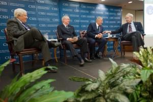 Richard Fairbanks, James Tozzi, and Jim Schlesinger