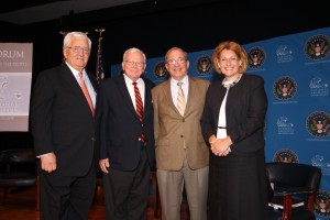 Dr. Shirley Anne Warshaw, Edwin Harper, James Falk and Richard Nathan
