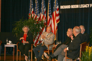 Barbara Franklin, Larry Higby, Tod Hullin, Bobbie Kilberg and Fred Malek