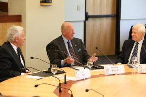 George Shultz, Fred Malek and Kenneth Dam