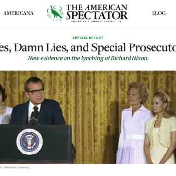 American Spectator Geoff Special Report